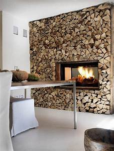 25+ best ideas about Log wall on Pinterest