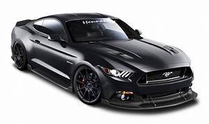 Ford Mustang Hennessey Black Car PNG Image - PngPix