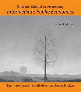Intermediate Public Economics    Jean Hindriks And Gareth D