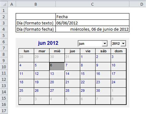 Como Introducir Un Template En Xhtml excel insertar un calendario editable excel insertar un