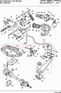 Aston Martin Db7  1995  Rear Suspension Parts