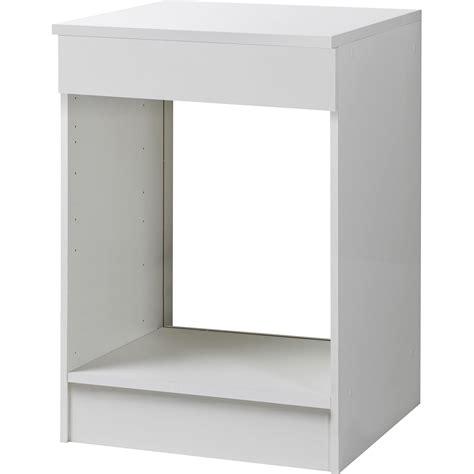 meuble cuisine volet roulant awesome meuble de cuisine bas four blanc hx lx pcm with