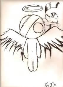 Gothic Emo Angel Drawing