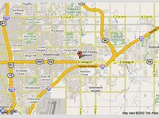 Map of Comfort Inn Wichita, Wichita