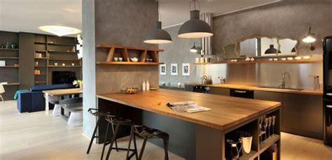 id馥 deco cuisine ouverte supérieur table haute ilot central 1 la cuisine ouverte une bonne id233e quotma maison mon kirafes