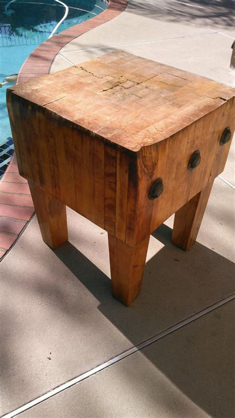 Antique Butcher Block  For Sale Classifieds