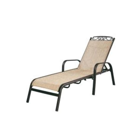 home depot chaise lounge hton bay santa adjustable patio chaise lounge
