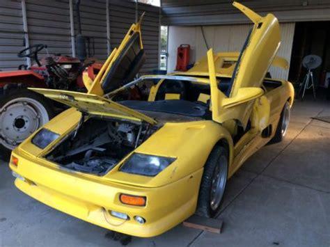 find  lamborghini kit car  visalia california