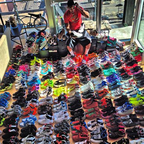 Lebron Shoe Closet by Joe Haden Shows His Sneaker Collection Sneakernews