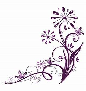18 Purple Floral Vector Images - Light Purple Swirls ...