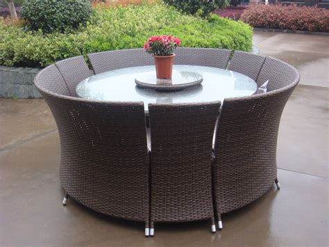 round glass top outdoor table furniture rectangle black rattan outdoor high top table