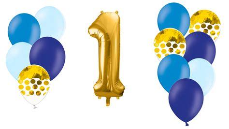Zelta ciparu kompozīcija Dzimšanas diena. zilos toņos ...
