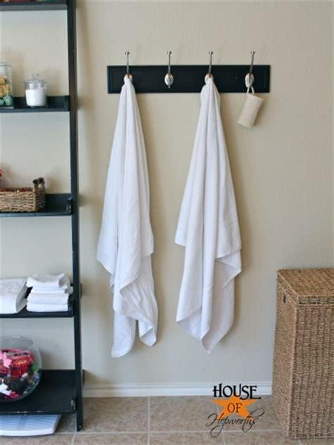 master bathroom update  towel hooks house  hepworths