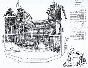 Globe Theatre Sketch At Paintingvalley Com