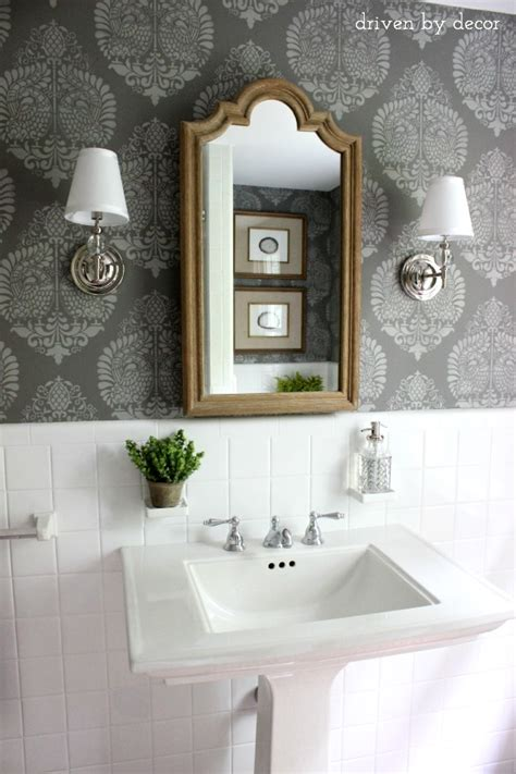 And Finally The Bathroom Reveal!  Driven By Decor