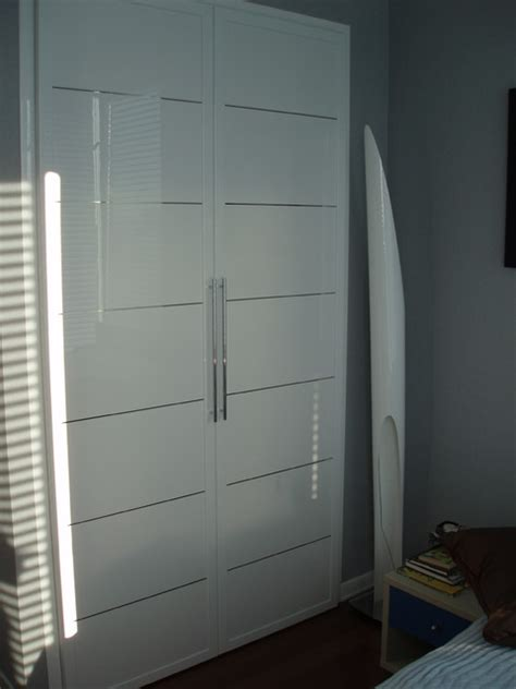 closet doors miria collection in high gloss white modern