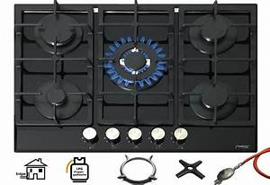 Gaskochfeld 3 Flammig : ph nix pg 901t gaskochfeld gaskocher 5 flammig glas einbauherd ~ Orissabook.com Haus und Dekorationen