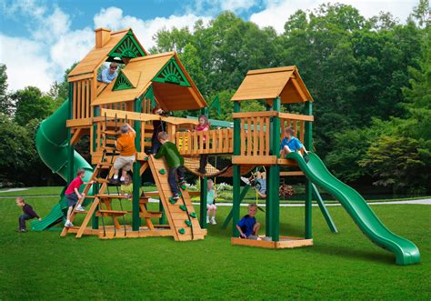backyard playset cedar swing set playset clearance sale