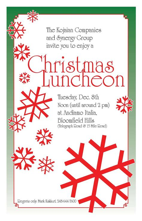 invite christmas luncheon mark kakkuri flickr