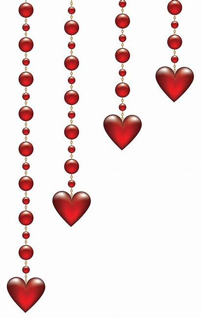 Valentine Transparent Hearts Clip Heart Clipart Hanging