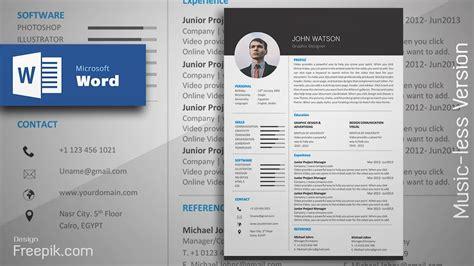 Formal Cv Template by Creating A Formal Black Resume In Microsoft Word Cv