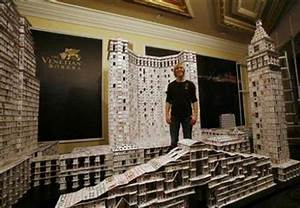 New World Record: House with Playing Cards - XciteFun.net