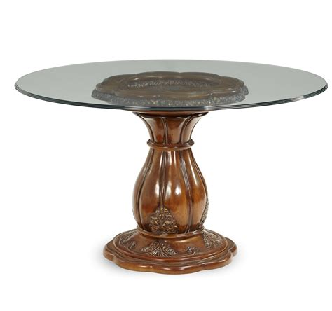 Round Glass Top Dining Table  Shop Factory Direct