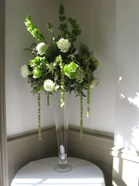 tall vase wedding flower inspiration pinterest