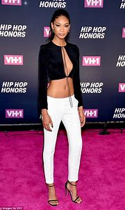 Chanel Iman wears crop-top while attending VH1's Hip Hop ...