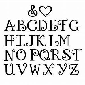 Images For > Pretty Font Letters