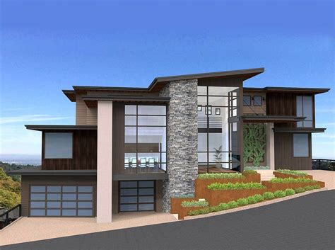 Exclusive And Unique Modern House Plan