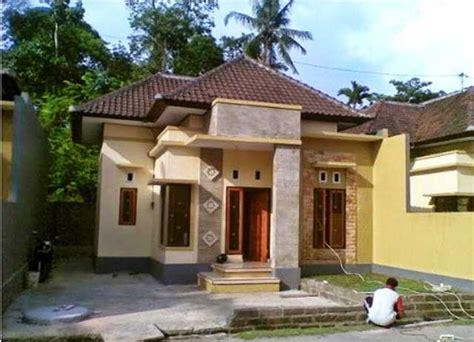 desain rumah minimalis sederhana  kampung desa