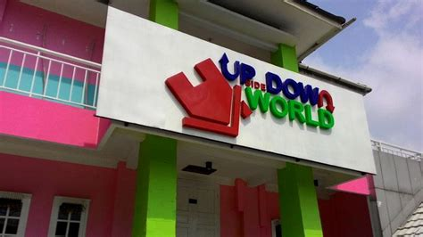 upside  world jogja foto lokasi rute harga tiket