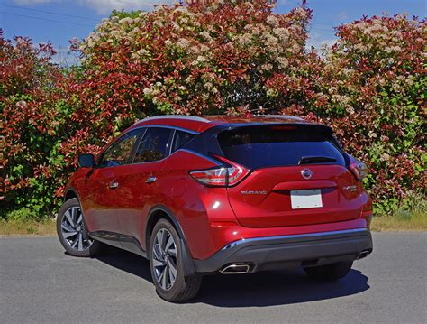 2016 Nissan Murano Reviews by 2016 Nissan Murano Platinum Road Test Review The Car