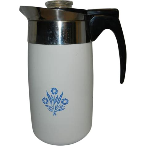 For the best rated electric percolator coffee pot, here are the necessary features to take note of: Vintage Corning Ware Blue Cornflower Electric 10 Cup ...