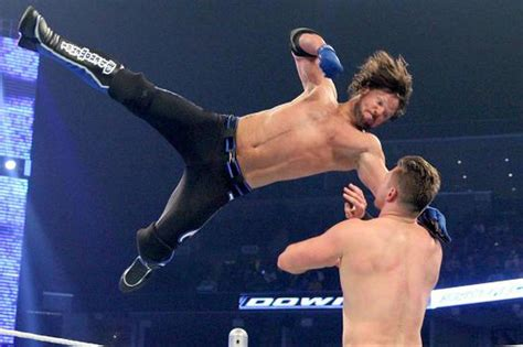 aj styles wants your help naming a new finisher cageside