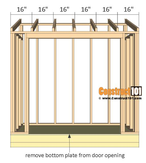 lean to shed plans lean to shed plans 4x8 step by step plans construct101