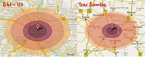 The gallery for --> Nuclear Bomb Explosion Radius
