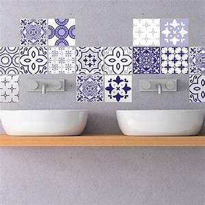 Stickers Carreaux De Ciment : 30 stickers carreaux de ciment mykonos cuisine ~ Premium-room.com Idées de Décoration