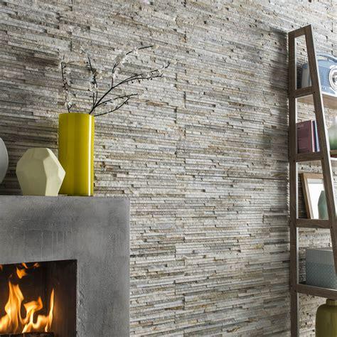 côté maison cuisine plaquette de parement naturelle gris beige