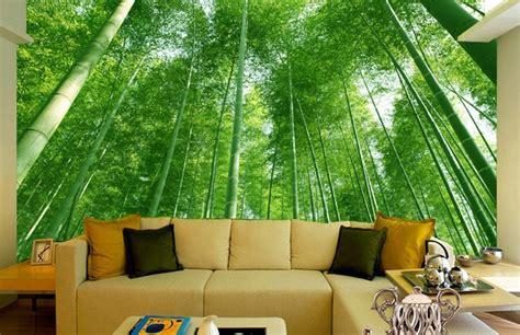 wallpaper dinding pemandangan   ruangan