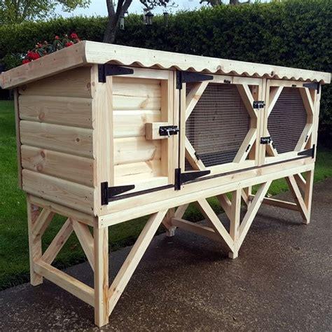 6ft rabbit hutches 6ft single rabbit hutch ryedale pet homes