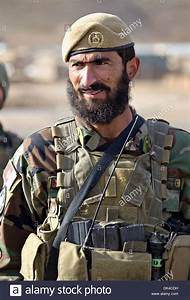 An Afghan National Army Special Forces Commando With The