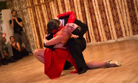 Gabriel Missé and Analía Centurión Dance Tango - The New ...