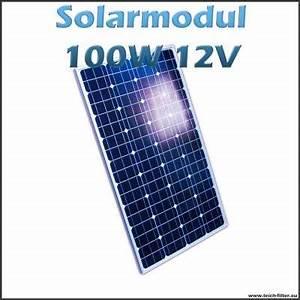 Solar Inselanlage Berechnen : solarmodul 100w 12v monokristallin f r garten dach und camper ~ Themetempest.com Abrechnung