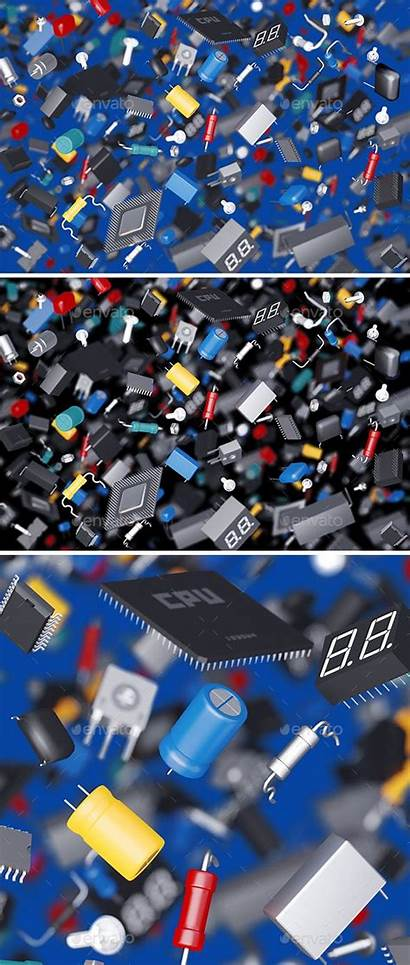 Graphicriver Components Electronic Many Wallpapers Electronics