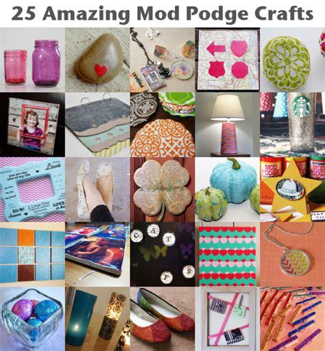 mod podge ideas crafts 25 amazing mod podge crafts spark 4979