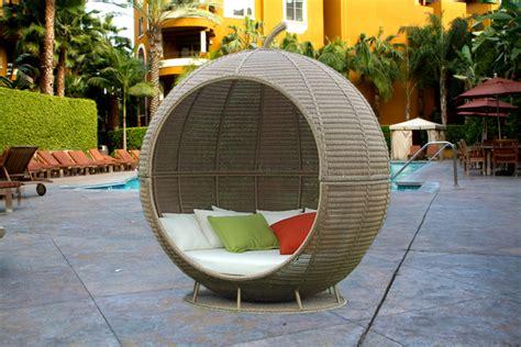 wicker bed wicker outdoor furniture garden wicker