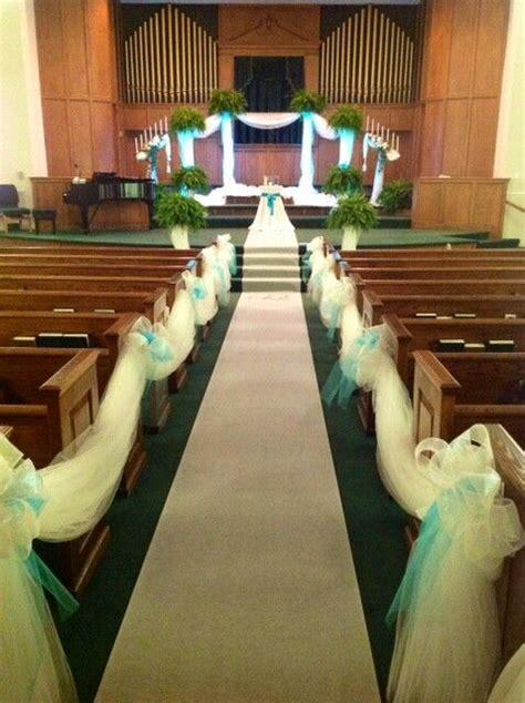 Teal Church Wedding By Elegant Happenings Wonderful Use
