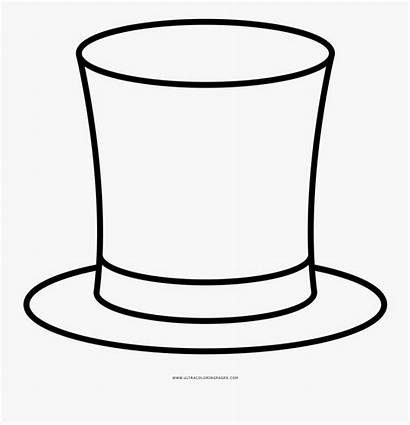 Coloring Hat Magician Clipartkey
